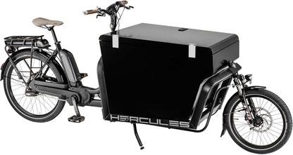 Hercules Cargo e-Cargobike / Lasten e-Bike 2017 mit Bosch Antrieb