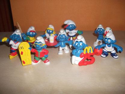 Schtroumpfs McDonald's