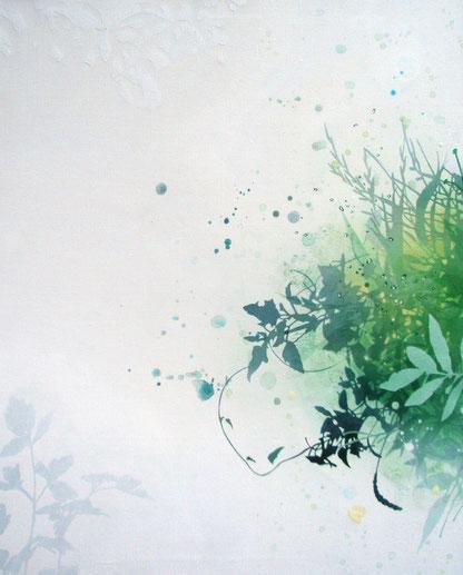 アクリル絵画 植物の絵 花束の絵