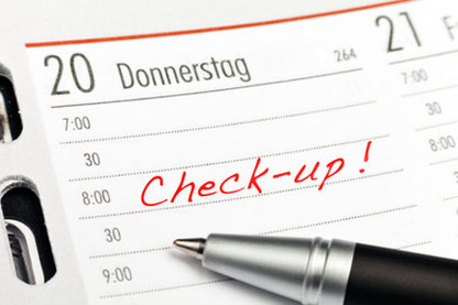 Vorsorgeuntersuchung Check Gesundheit