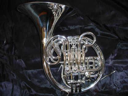 Doppelhorn, Musikhaus Schmon Blasinstrumente, Flums