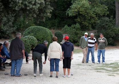 Bild: Boule oder Pétanque, in der Provence