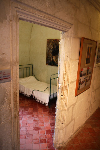 Bild: Zimmer Vincent van Gogh in Monastère de St-Paul-de-Mausole
