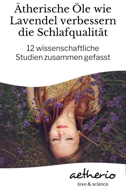Besser einschlafen, durchschlafen, erfrischt aufwachen? #Lavendelöl und andere ätherische Öle helfen beim #Schlafen - wir stellen die wissenschaftlichen Studien vor, die das belegen - aetherio.de/journal #schlaf #lavendel #gutenacht #kissenspray