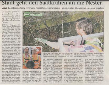 Wilhelmshavener Zeitung v. 25.4.2013