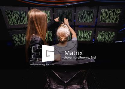Matrix, AdventureRooms Biel