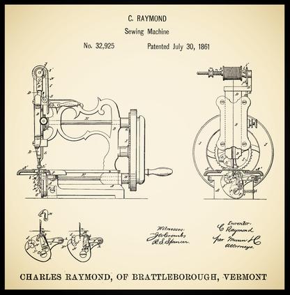 U.S.  Patent  32.925  - July 30, 1861