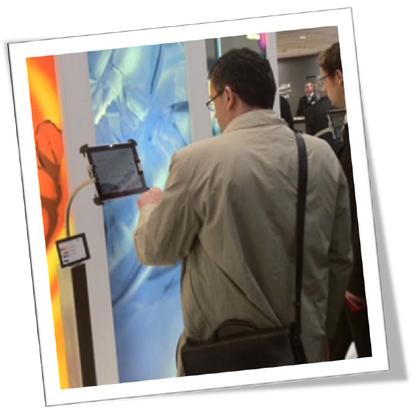 Präsentation durch mediale Applilationen auf iPads