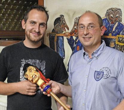 Neuer & Alter Zunftmeister anno 2015: Florian Ernst & Jürgen Schönauer