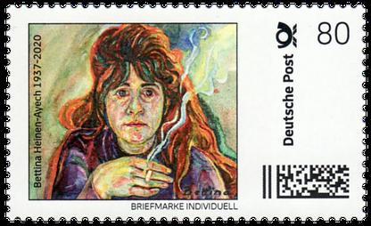 Décembre 2020, timbres-poste 80 cents