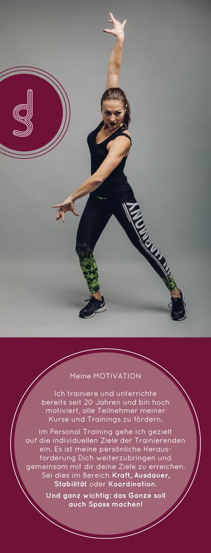 Jsa Studer ems personal training sport gesunde  ernährung leidenschaft ems lizenz trainer