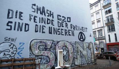 """"""" Smash G20 - Frihedens fjender er vores fjender"""""""