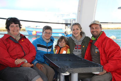 en route pour voir les baleines