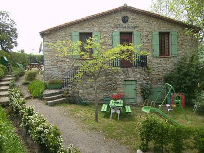 gite dans l'Aude label pays cathare gites de france à Quintillan le relais des vignes