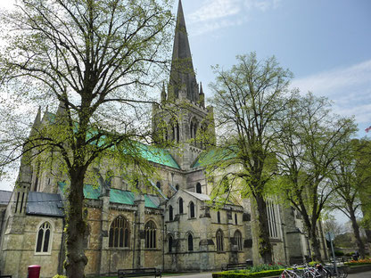 Chichester Cathedral. Photo © Chris Gunns