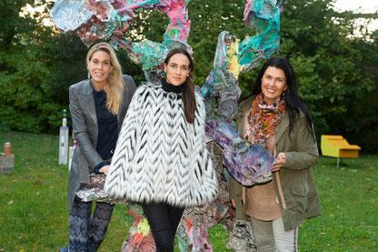 v.l.: Sandra Maria Soravia-Lepuschitz, Lisa Kandlhofer und Renate Altenhofer; Foto: (c) Alice Schnür-Wala