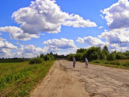 Дороги Большого Попова станут хорошей проверкой подвески вашей машины