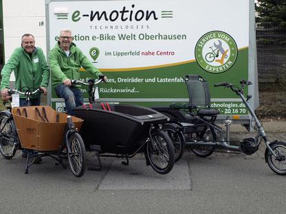 Lastenrad / Cargo e-Bike Förderung in NRW - Jetzt in Oberhausen informieren!