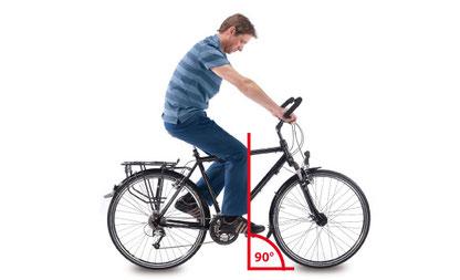 e-Bike Sattel richtig einstellen