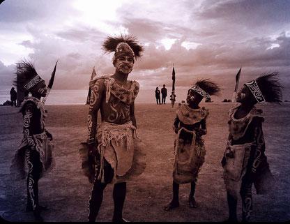 Musik, Tanz und Kultur ist für die Papuas sehr wichtig