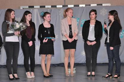 Trainerinen: Kathrin Baldauf, Nici Göbler, Lili Wagenbauer, Manuela Hiermer, Anna-Lena Sterz, Marianne Meier, (Steffi Kaltenecker fehlt)