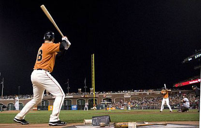 Nella foto Buster Posey on deck