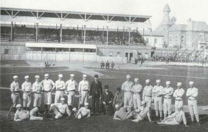 Nella foto il Providence Park nel 1879