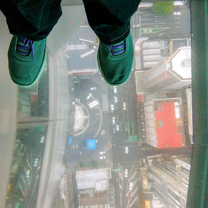 """""""From where I stand"""" auf dem Sky Tower, Auckland"""