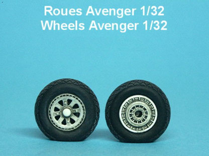 Maquette MustHave! roues Avenger