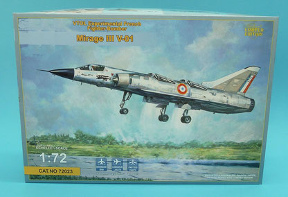 Maquette MustHave! Mirage III V-01