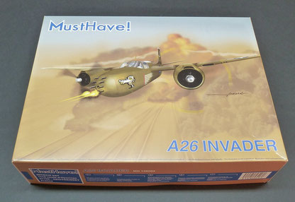 Maquette MustHave! A26 Invader