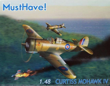 Maquette MustHave!Curtiss Mohawk IV