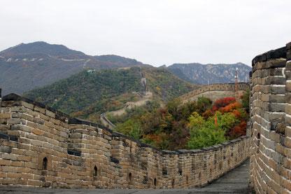 Chinesische Mauer, Mutianyu, Peking, China