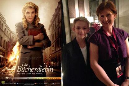 Filmplakat (Fox), Nico Liersch und Anne Walcher bei der Deutschlandpremiere