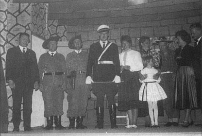 """Theaterspiel 1963 mit der Aufführung """"Christenverfolgung in Mexiko"""""""