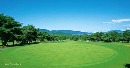 ラウンドレッスン in 軽井沢72ゴルフ 南コース風景