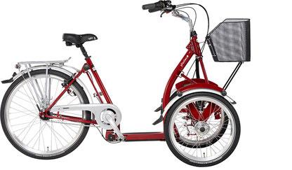 Pfau-Tec Primo Front-Dreirad Beratung, Probefahrt und kaufen im Oberallgäu