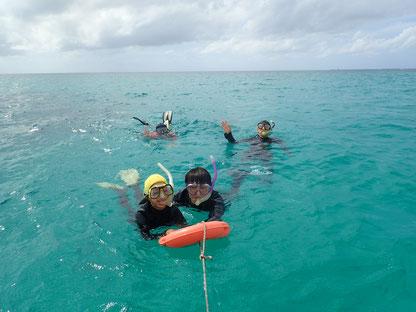 石垣島でのんびりダイビング「ファミリーシュノーケリング」ヒートハートクラブ