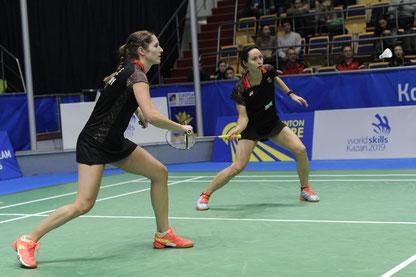 Wieder vereint: Carla Nelte und Johanna Goliszewski. Bild: Claudia Pauli
