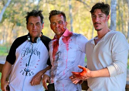 Giorgio Serafini mit Sean Patrick Flannery und Eric Balfour