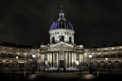 L'Institut de France, quai de Conti, à Paris