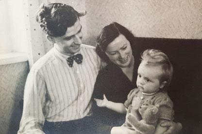 Abb.4: Ein Brief Walters aus dem Jahr 1940 an Hedwig und Armin Beilhack.