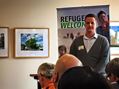 Im Landkreis Dahme-Spreewaald sind derzeit 500 Plätze bis Ende 2015 geplant. Marcel Drillisch, der Koordinator für Asylangelegenheiten im Landkreis Dahme-Spreewald berichtet.