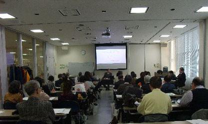 私とエゾシカと納豆と北海道 永田社長講座風景