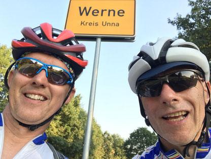 Stefan Rühl und Dirk Pohl auf Fischbrötchentour - Foto: RSC Werne