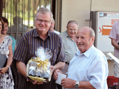 Hans Weiß feierte seinen 90. Geburtstag