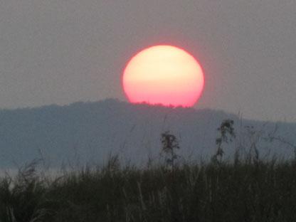 Sonnenuntergang auf Rügen