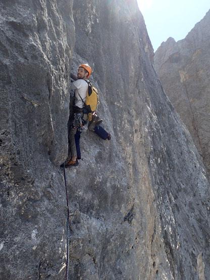 die steile SSL gaaaanz oben, VII-