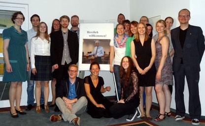 Der Kurs 02-12 verabschiedet sich vom Studienseminar Leer. Foto: Ulrichs