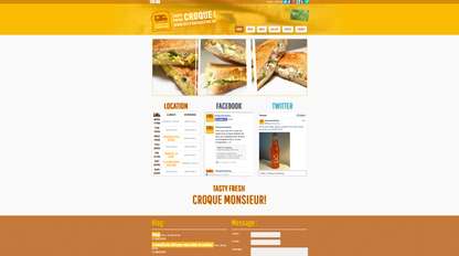 Site de gastronomia profissional: http://www.keepontoasting.be/